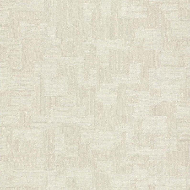 Papier Peint Expanse Carre Metal Beige Clair Lutece Leroy Merlin