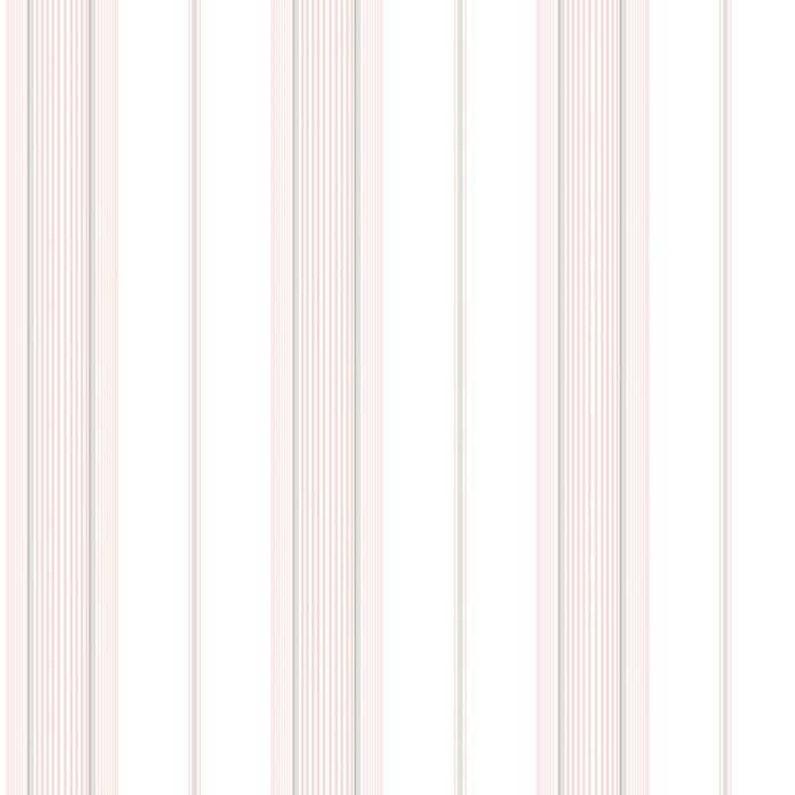 Papier Peint Vinyle Rayures Rose Gris Leroy Merlin