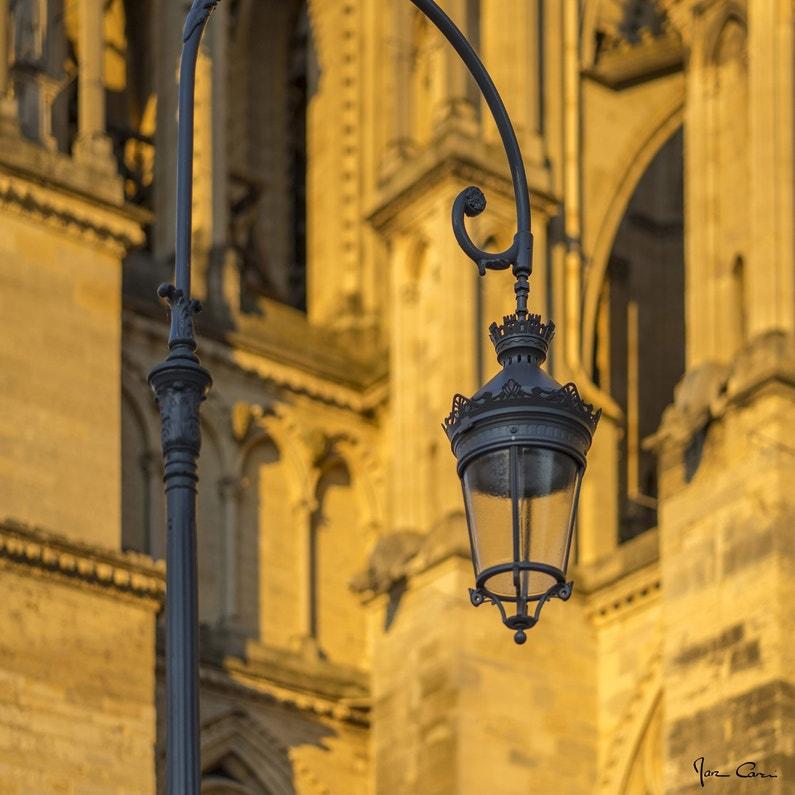 Toile Imprimée Cathédrale De Reims Multicolore Artis L45 X H45 Cm