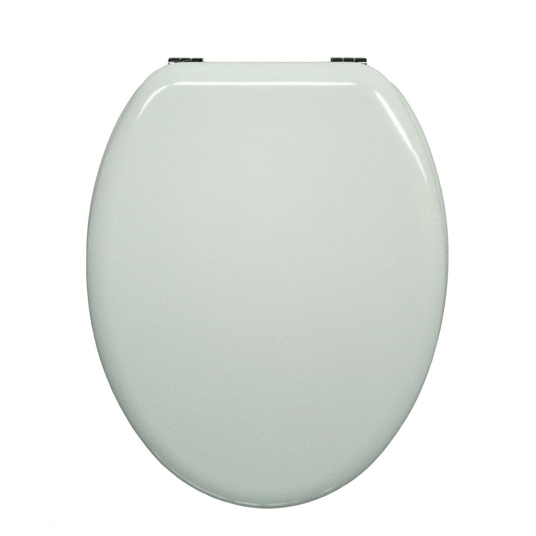 abattant white n 0 bois compress sensea pop leroy merlin. Black Bedroom Furniture Sets. Home Design Ideas