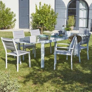 Salon De Jardin Design Blanc au meilleur prix | Leroy Merlin