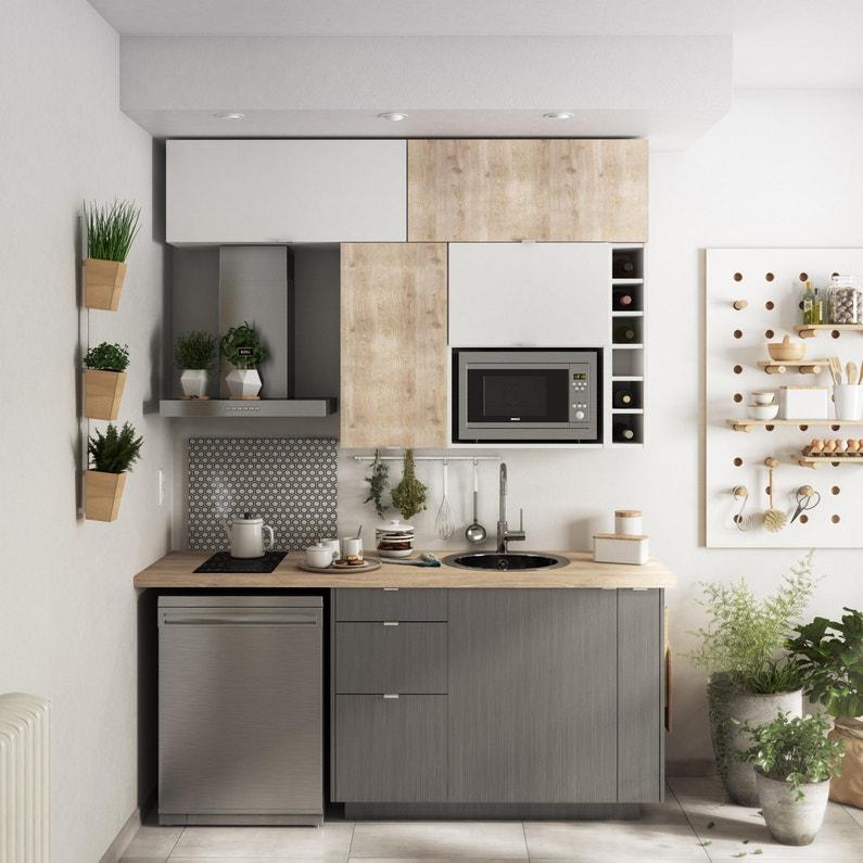 Facade De Tiroir De Cuisine Sofia Blanc Delinia Id H 38 1 X L