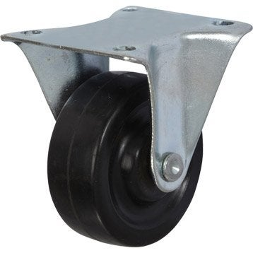 Roulette fixe à platine, Diam.40 mm