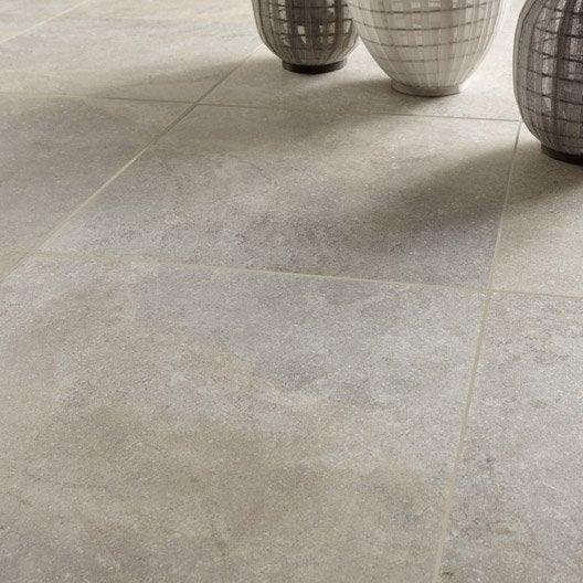 Carrelage sol et mur beige effet pierre pietra x cm leroy merlin - Carrelage exterieur pas cher fin de serie ...