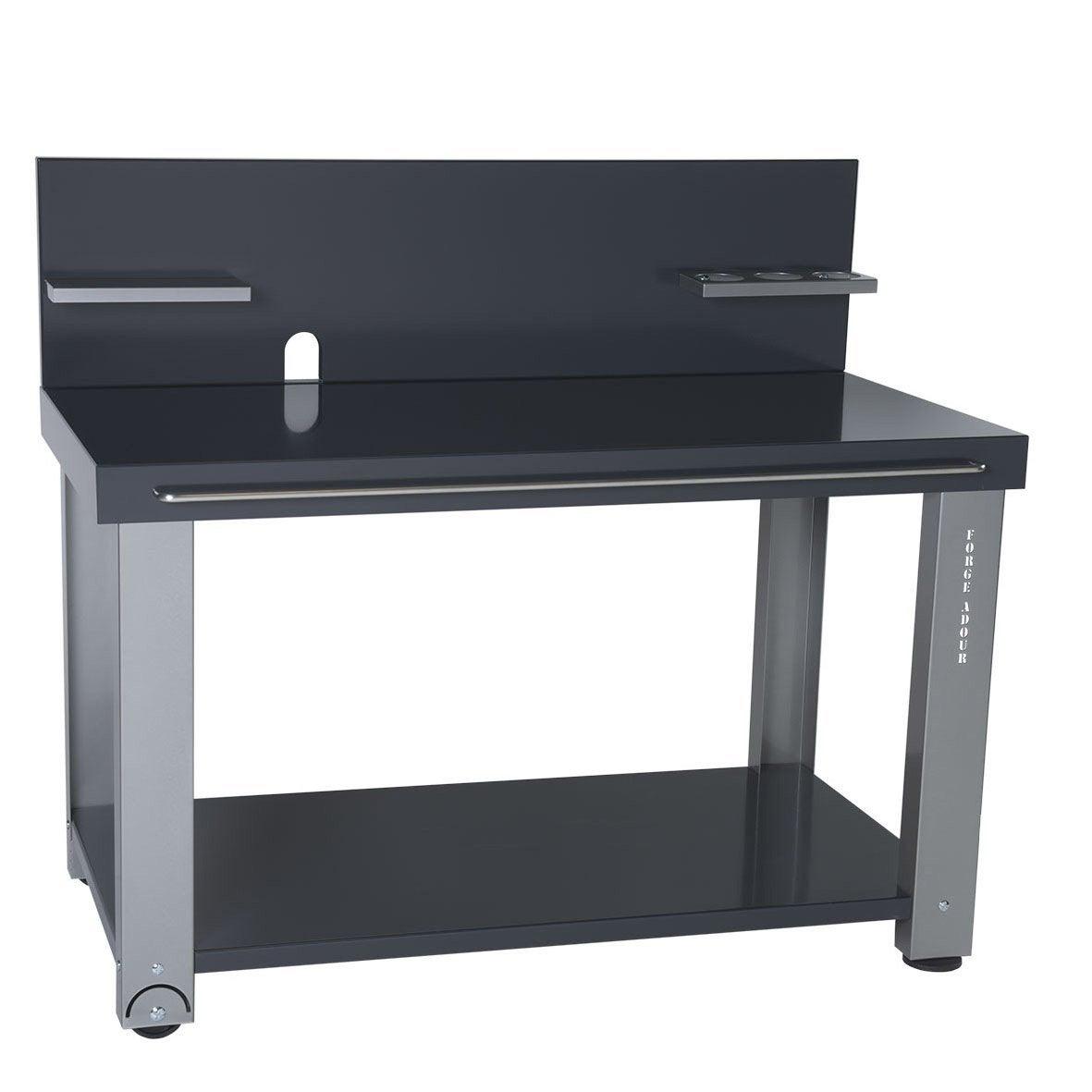 chariot forge adour cred gris leroy merlin. Black Bedroom Furniture Sets. Home Design Ideas