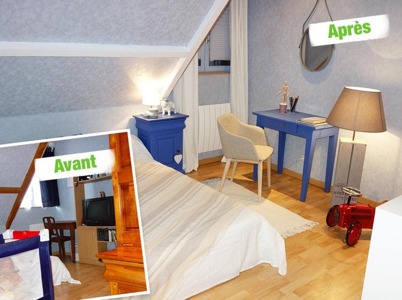 relooking coin bureau leroy merlin. Black Bedroom Furniture Sets. Home Design Ideas