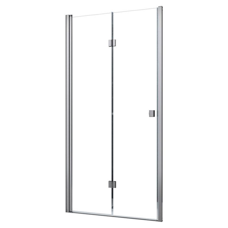 Porte De Douche Pivot Pliante 80 Cm Transparent Neo