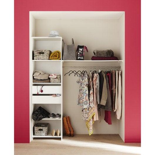 Kit Dressing Blanc Modul 39 Kit X X Cm Leroy Merlin