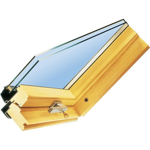 Vitrage confort 24 mm velux x cm leroy merlin for Joint fenetre velux
