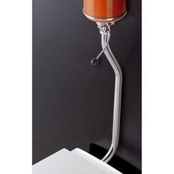 r servoir wc et cuvette seule toilette wc abattant et lave mains au meilleur prix leroy. Black Bedroom Furniture Sets. Home Design Ideas