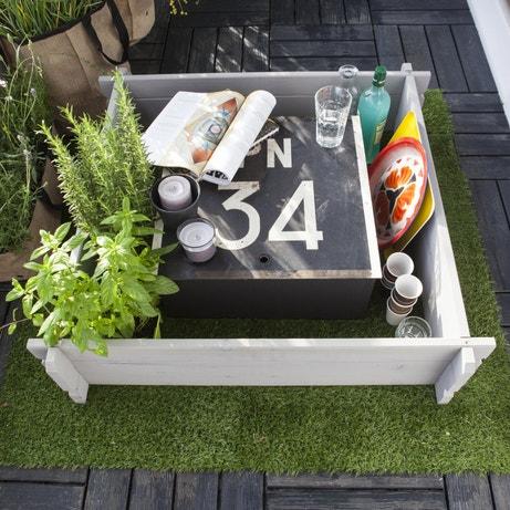 Un carré de potager sur votre terrasse