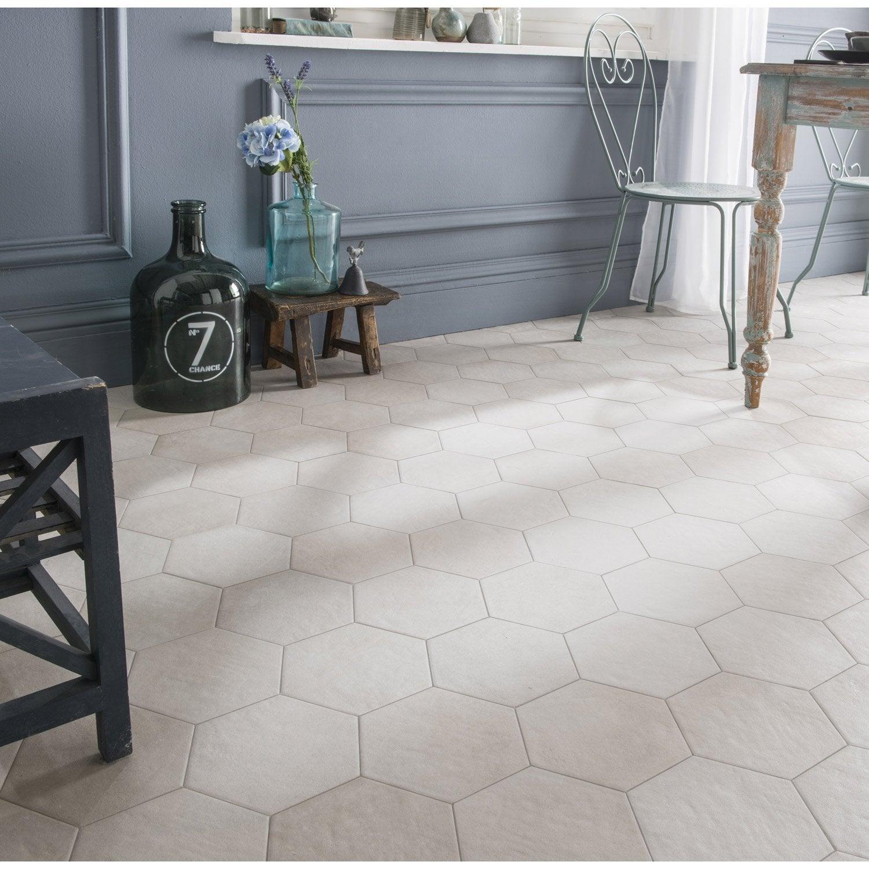carrelage sol et mur blanc cass effet b ton time x l. Black Bedroom Furniture Sets. Home Design Ideas