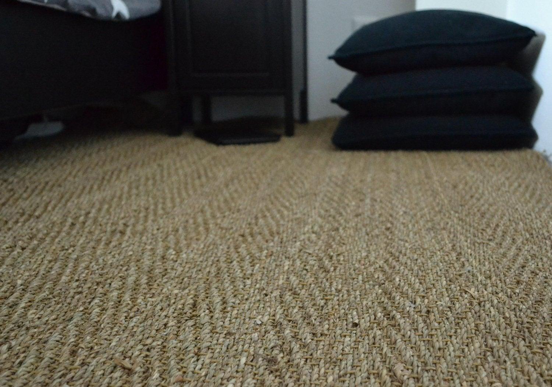 l gant des id es de poser du jonc de mer. Black Bedroom Furniture Sets. Home Design Ideas