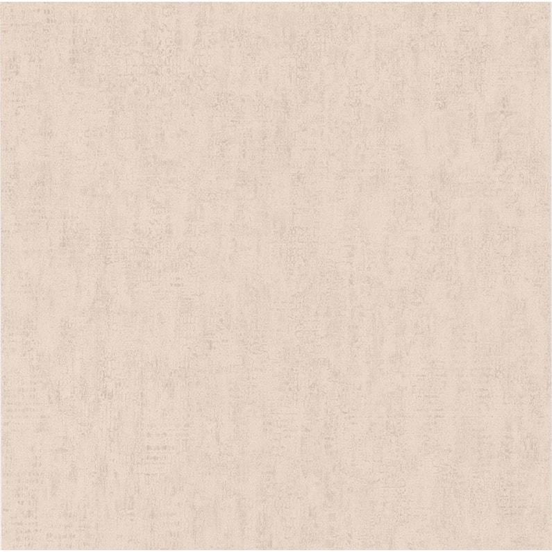 Papier Peint Vinyle Craquele Paillete Beige Leroy Merlin