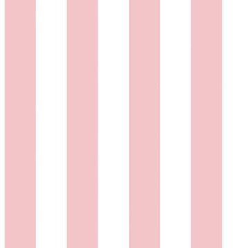 Papier peint intissé rose/blanc