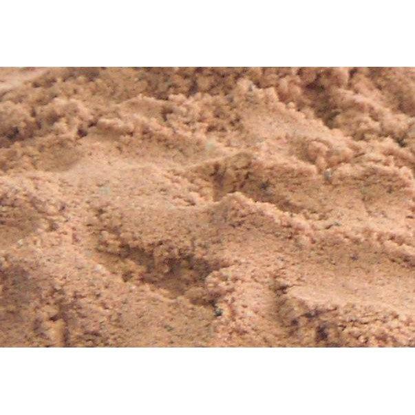 Sable Décoratif Pierre Naturelle Rouge Silice 02mm 25 Kg