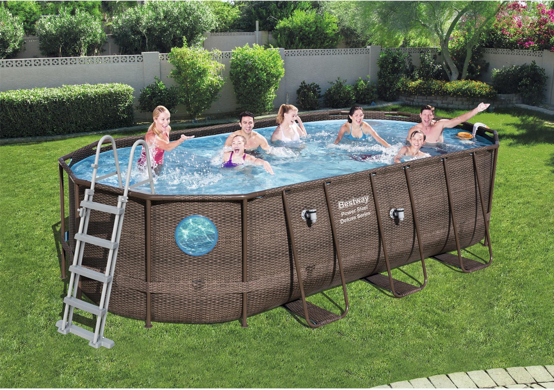 piscine hors sol rectangulaire Loriol-sur-Drôme