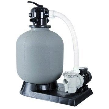 Kit de filtration à sable UBBINK 6 m3/h vanne top 6 m³/h