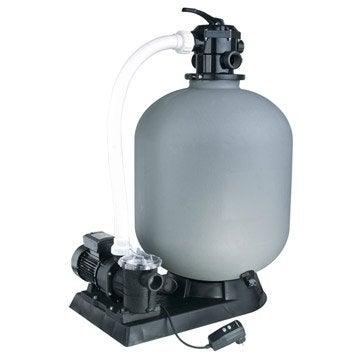 Kit de filtration à sable UBBINK 13 m3/h vanne top 13 m³/h