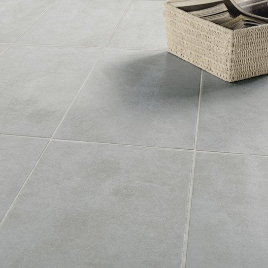 Carrelage int rieur sol et mural leroy merlin for Carrelage taupe clair