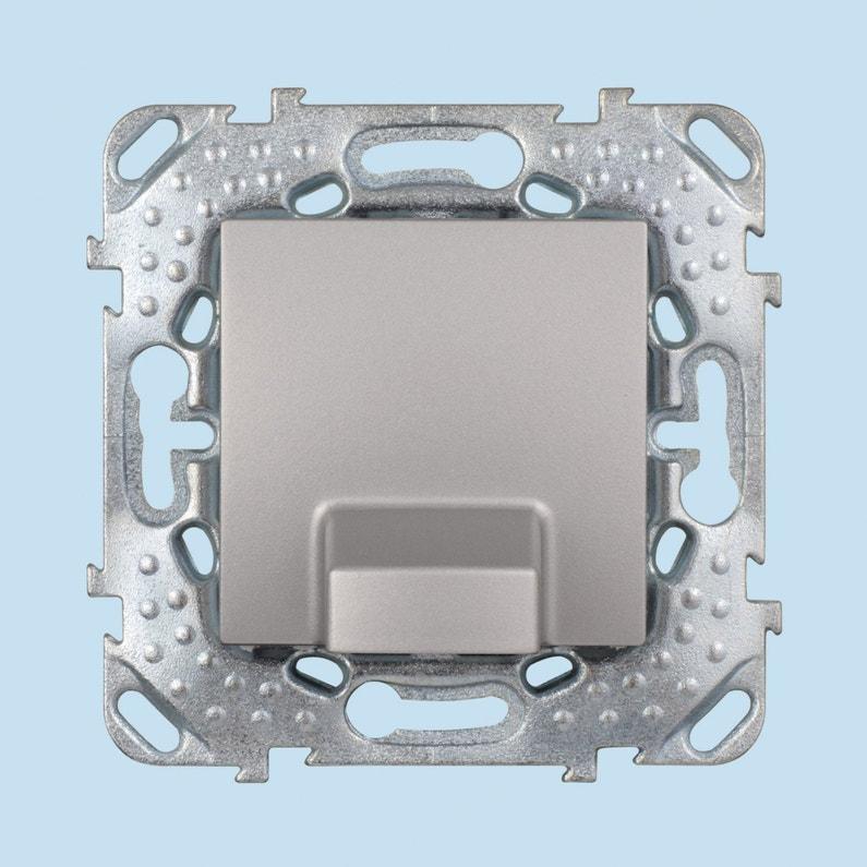 Sortie De Câble Unicatop Schneider Electric Gris Aluminium