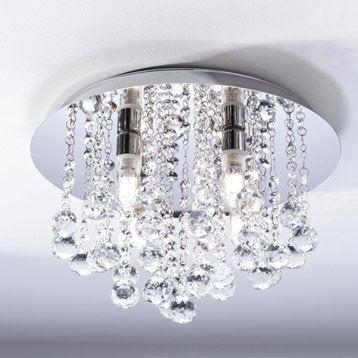 Plafonnier Almonte, LED 4 x 2.5 W, G9 blanc chaud