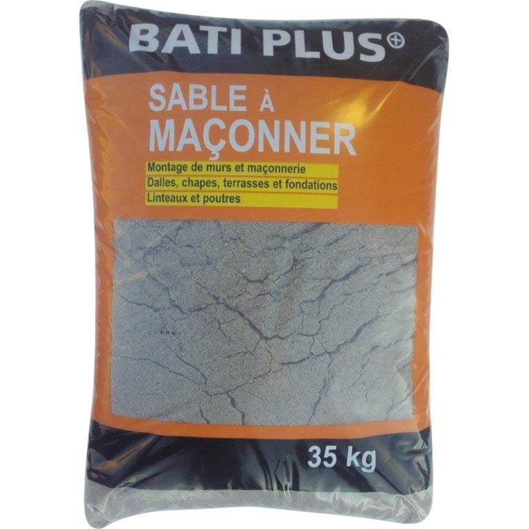 Sable ma onner 0 4 en sac 35 leroy merlin - Dosage beton pelle sac 35 kg ...