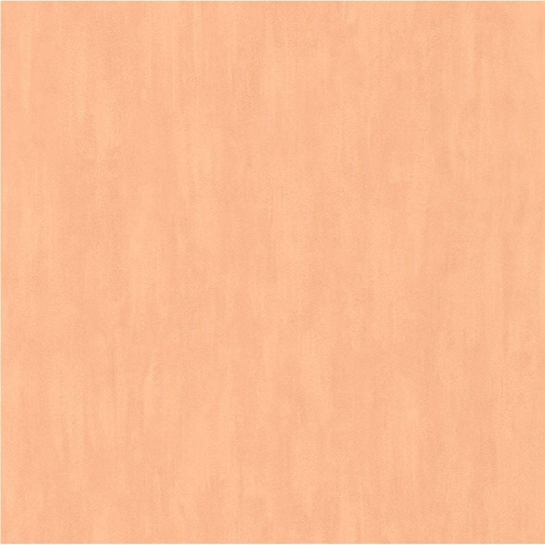 Papier Peint Vinyle Uni Pinceau Orange Leroy Merlin