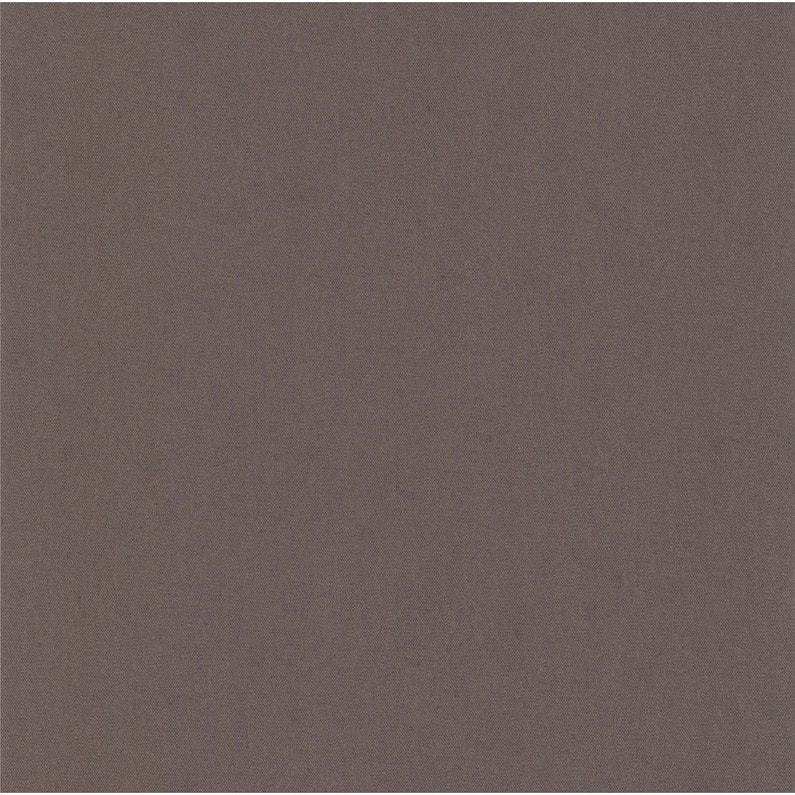Papier peint expansé Uni couleur & matière marron foncé | Leroy Merlin