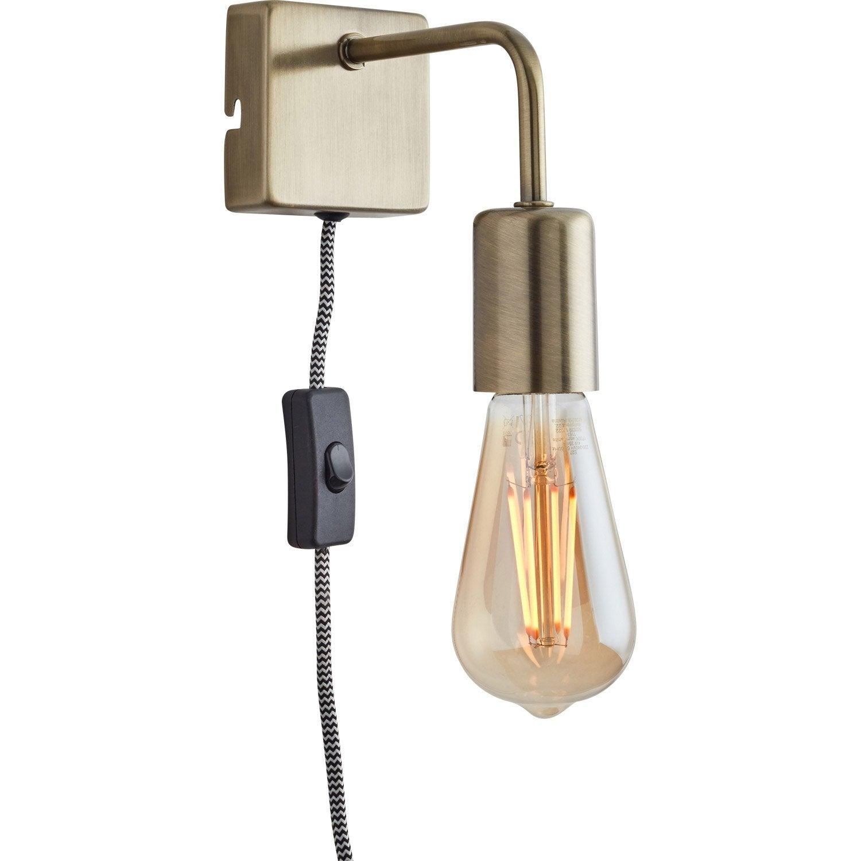 Applique métal laiton SAMPA HELIOS Lina 1 lumière(s)