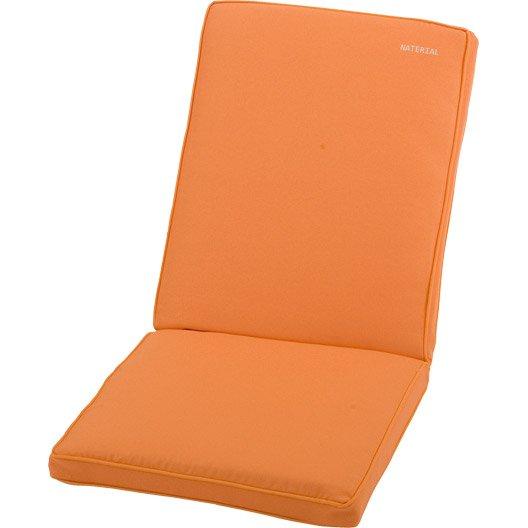 Coussin d 39 assise dossier de chaise ou fauteuil naterial for Coussin d assise exterieur