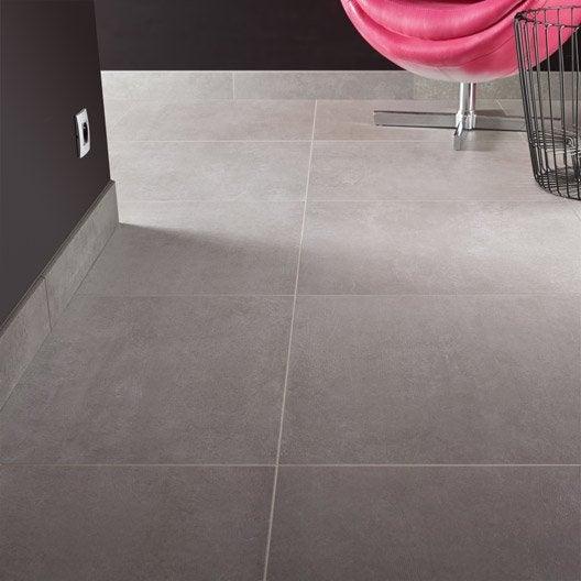 carrelage sol et mur gris lunaire effet b ton project x cm leroy merlin. Black Bedroom Furniture Sets. Home Design Ideas