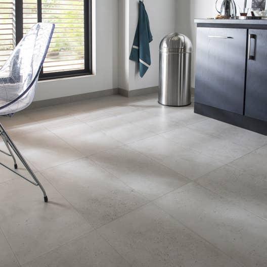 Carrelage Sol Et Mur Blanc Effet Béton Liverpool L X L Cm - Carrelage effet beton