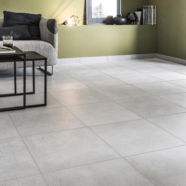 carrelage sol et mur gris effet b ton liverpool x l. Black Bedroom Furniture Sets. Home Design Ideas