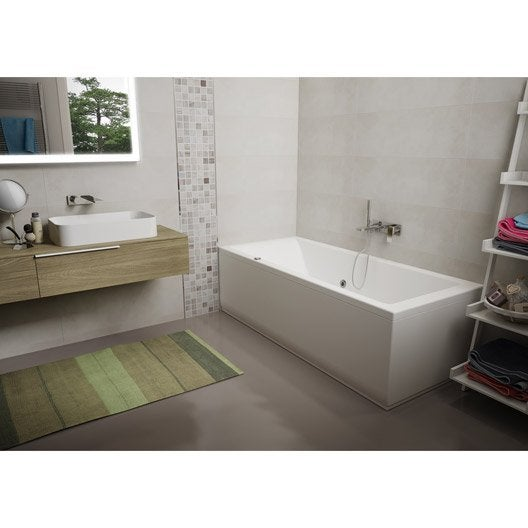 Awesome dimension jacuzzi salle de bain ideas seiunkel for Baignoire balneo 170x70