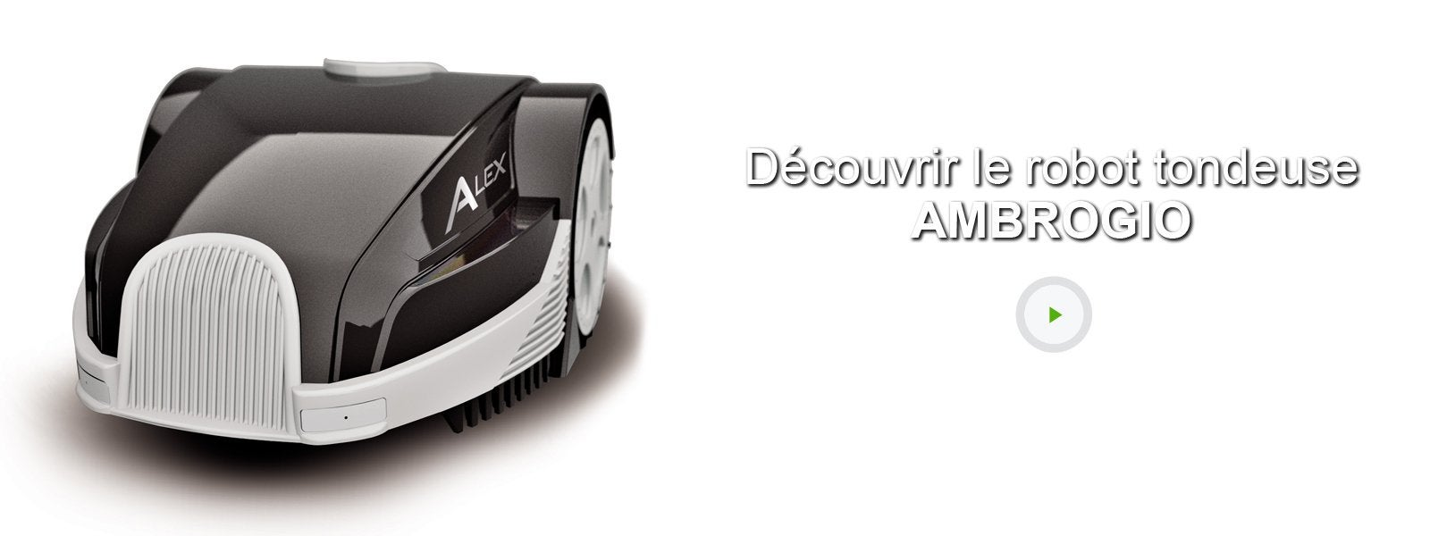 tondeuse robot connect e ambrogio l30 alex 500 m leroy. Black Bedroom Furniture Sets. Home Design Ideas