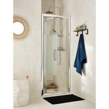 porte de douche au meilleur prix leroy merlin. Black Bedroom Furniture Sets. Home Design Ideas