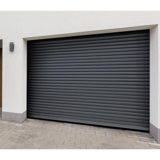 Pose D Une Porte De Garage à Enroulement Leroy Merlin