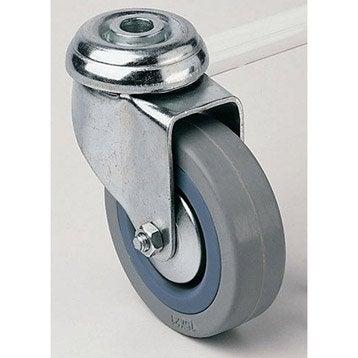 Roulette pivotante à oeil, Diam.100 mm