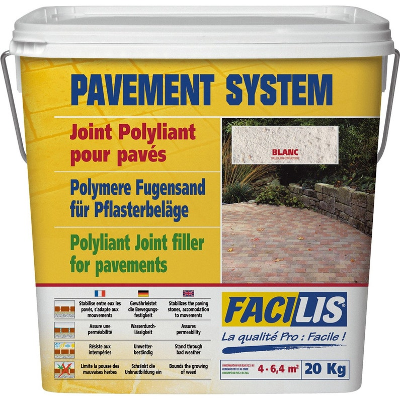 Joint Polymere Pave Vieilli Facilis