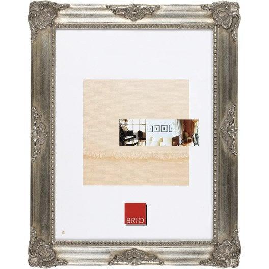 cadre op ra 13 x 19 cm bronze leroy merlin. Black Bedroom Furniture Sets. Home Design Ideas