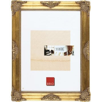 Cadre Opéra, 10 x 15 cm, dorée