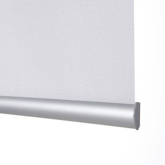 barre de lestage clipsable aluminium pour store enrouleur leroy merlin. Black Bedroom Furniture Sets. Home Design Ideas