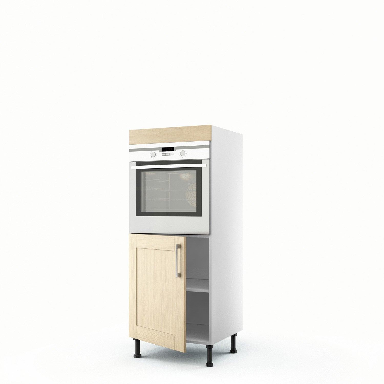 demi colonne ch ne clair four 1 porte cyclone x l. Black Bedroom Furniture Sets. Home Design Ideas