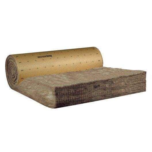 laine de verre kraft knauf insulation 2 5 x 1 2 m ep 320