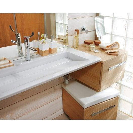 Evier ceramique encastrable blanc elegant evier cramique for Evier ceramique encastrable