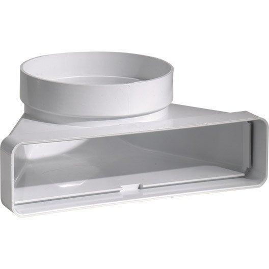 coude mixte rectangulaire pvc s p mm cdm125 leroy merlin. Black Bedroom Furniture Sets. Home Design Ideas