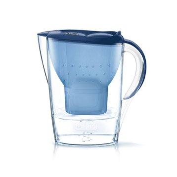 Carafe filtrante bleu et cartouche BRITA