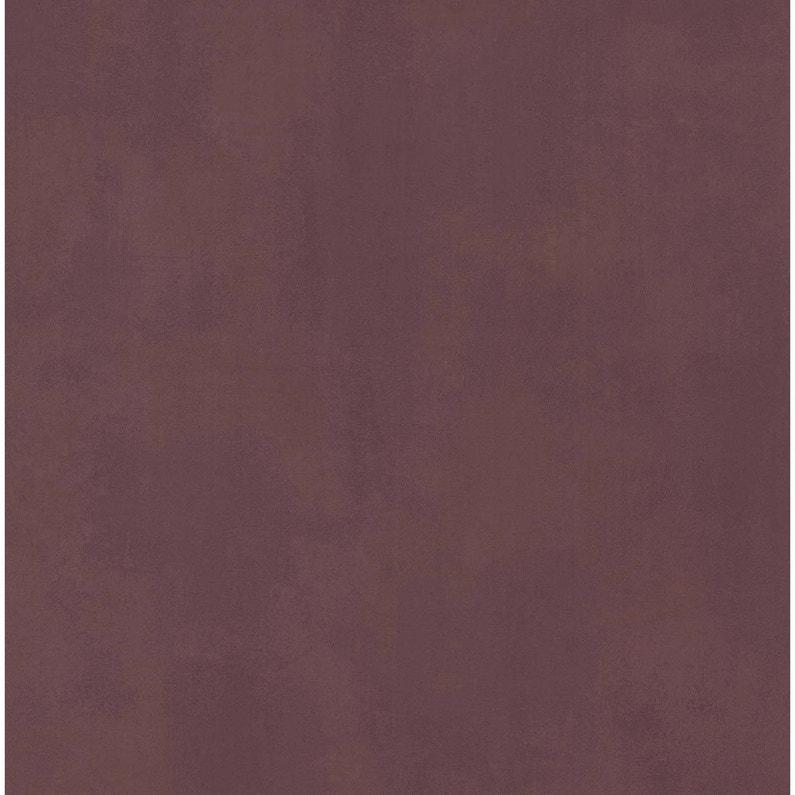 Papier Peint Vinyle Uni Matrix Lie De Vin