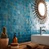 Salle De Bain Zellige Bleu ~ mosa que mur zellige lazuli 5 x 5 cm leroy merlin